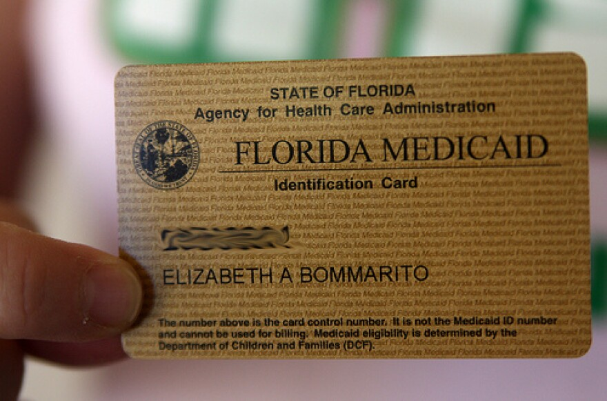 GOLDEN CARD About a million Floridians who are too poor and too well off at the same time may qualify for one of these after the next legislative session.