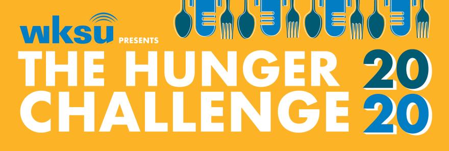 WKSU Hunger Challenge 2020