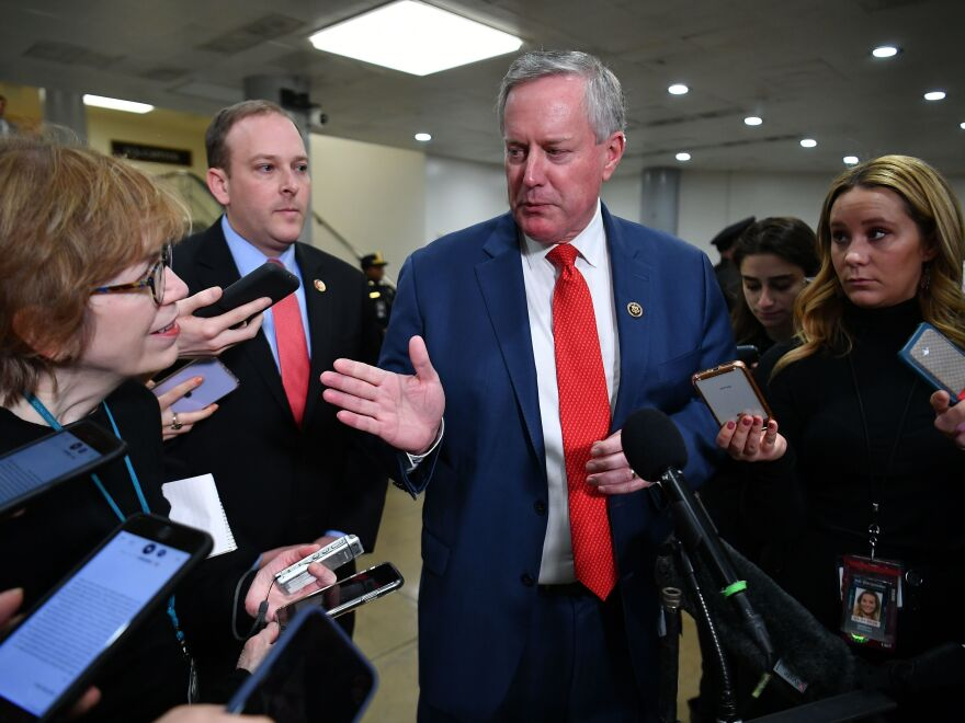 Meadows has been a stalwart defender of Trump on television, particularly during his impeachment trial.
