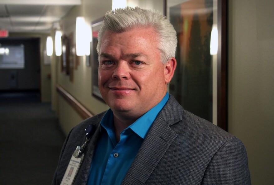 Michael Harvey is CEO of Community Memorial Hospital in Syracuse, Nebraska