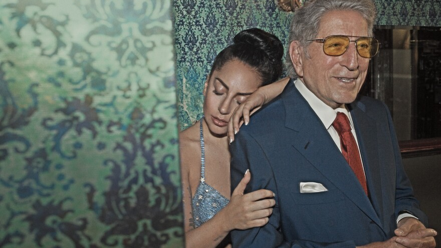 Tony Bennett and Lady Gaga's collaborative album is called <em>Cheek To Cheek</em>.