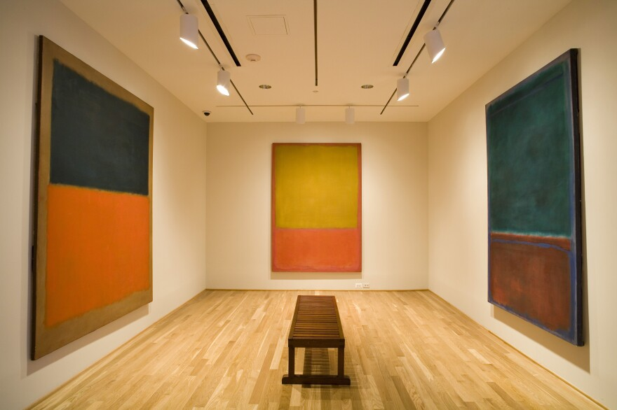 "Phillips designed a special room for the works he acquired from Mark Rothko. He referred to the <a href=""https://www.phillipscollection.org/curation/rothko-room"">Rothko Room</a> as a ""chapel."""