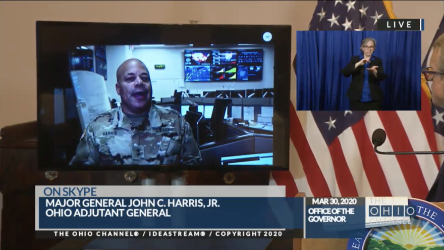 Major General John Harris, Ohio Adjutant General