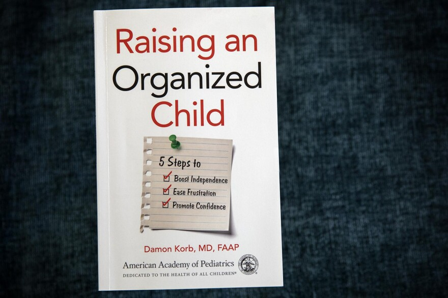 """Raising an Organized Child,"" by Damon Korb. (Robin Lubbock/WBUR)"