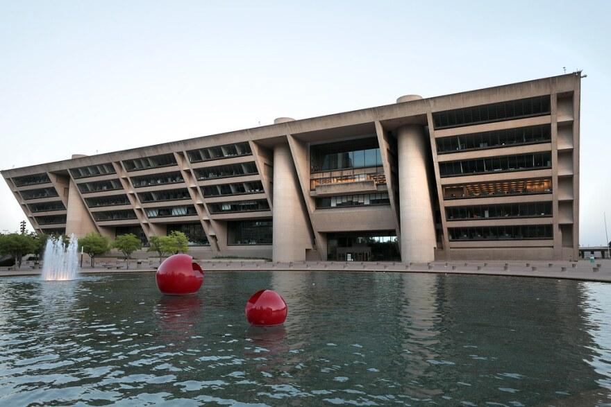 Dallas City Hall.
