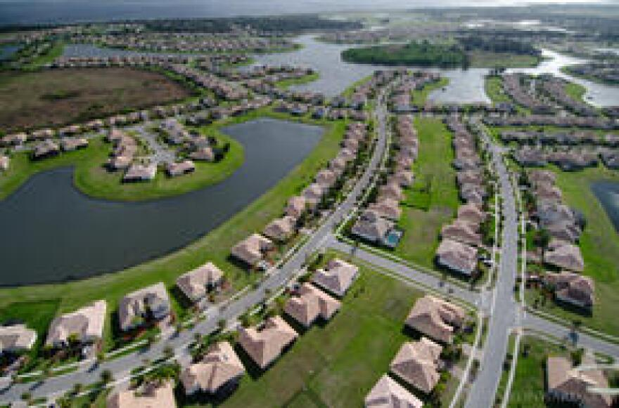 Suburban development in Central Florida.