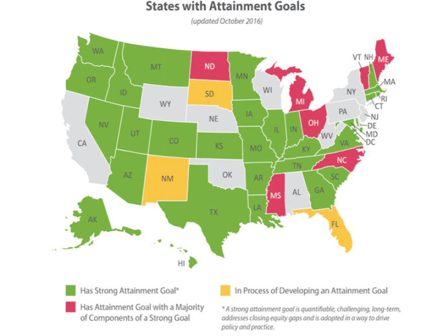 Other states with attainment goals similar to Florida's Higher Education Coordinating Council. A new report suggests a lack of high-speed internet in rural Florida threatens the goal.