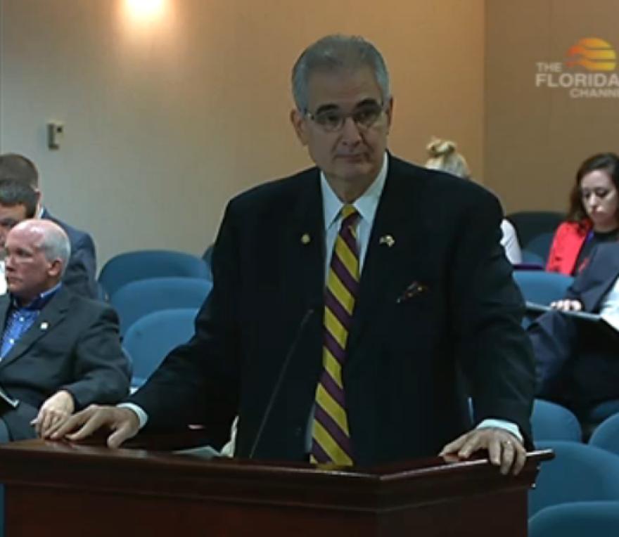 Florida Representative Fred Costello introducing the direct primary care bill.