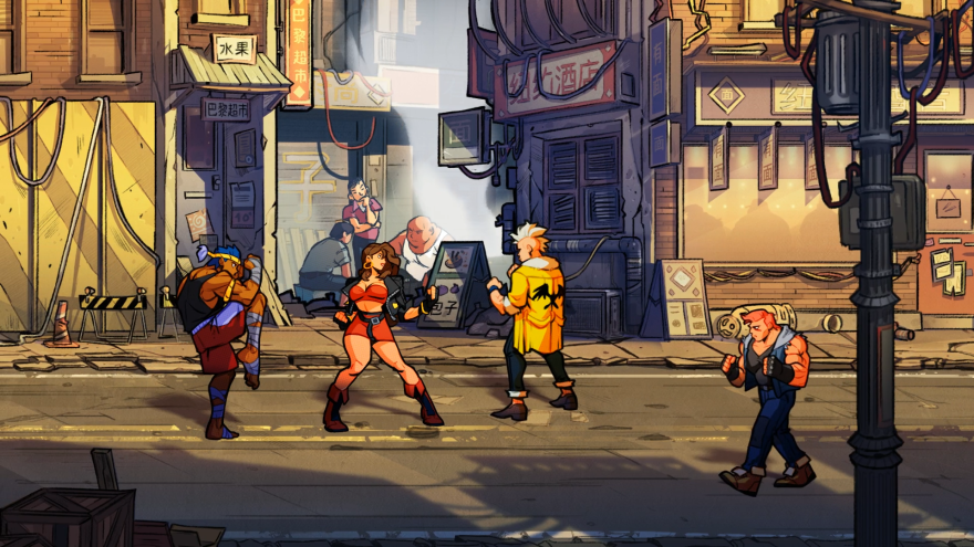 Big musical moments often coincide with climactic moments of gameplay in <em>Streets of Rage 4. </em>