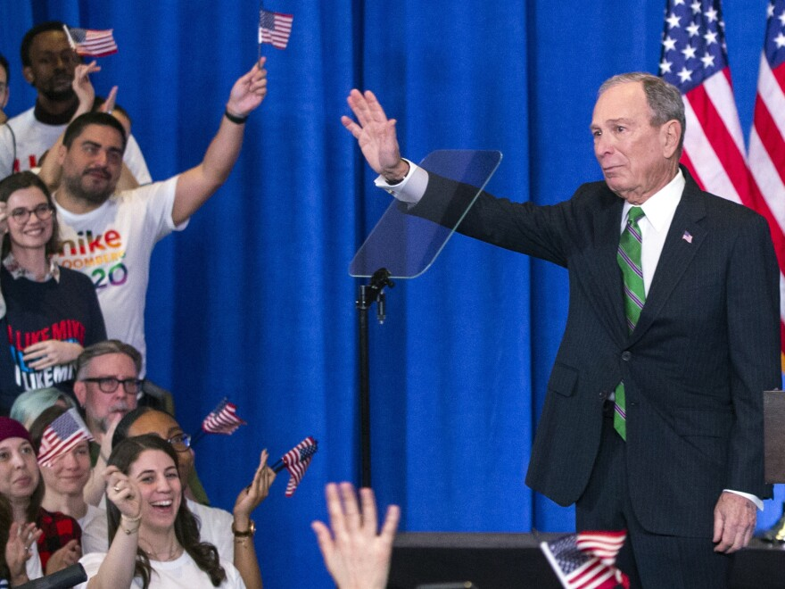 Former Democratic presidential candidate Mike Bloomberg announced that he was suspending his campaign in March. His former staffers say they were promised jobs through the general election, even if he was not the nominee.