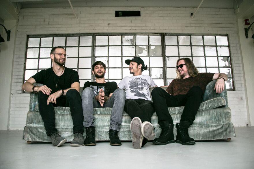 From left to right: Jason Matthews, Eric Escanes, Armando Lopez and Rodrigo Zambrano