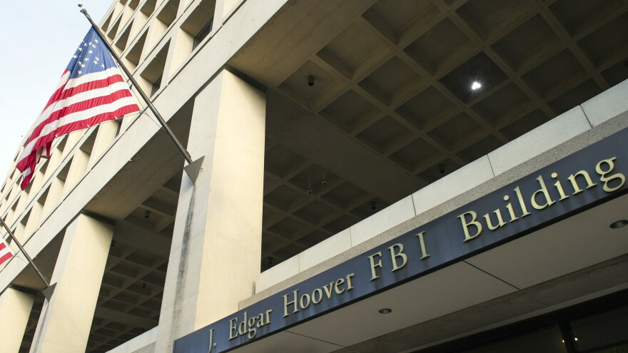 Democrats accuse President Trump of intervening in the decisions involving the fate of the FBI's headquarters in Washington to help protect his hotel up the street.