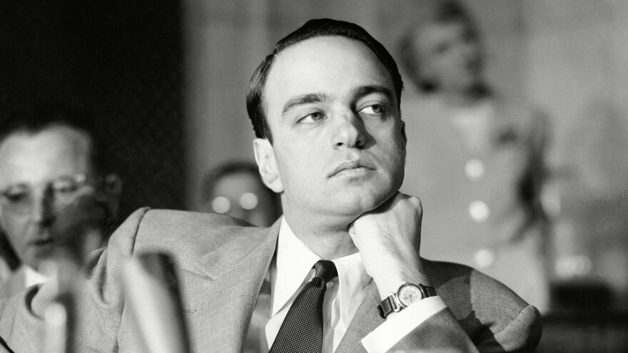 Roy Cohn, pictured here sitting on a senate investigation subcommittee, is remembered as a master political manipulator in <em>Where's My Roy Cohn?</em>