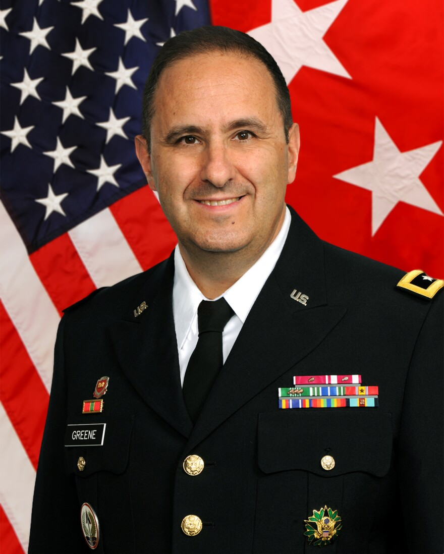 Maj. Gen. Harold Greene has been identified as the U.S. Army official killed in an attack in Kabul City, Afghanistan, on Tuesday.
