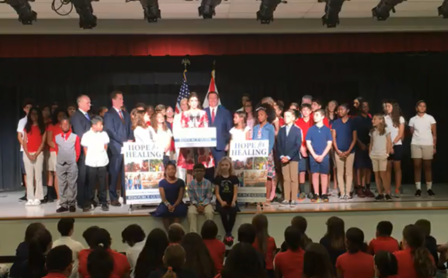Education officials proposed the change to the statewide school curriculum in June, following discussions with First Lady Casey DeSantis, who has made the mental health issue one of her top priorities.