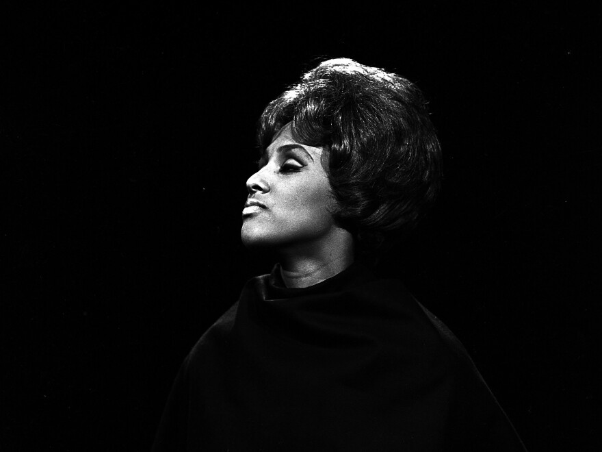"Darlene Love in 1964. Love was the uncredited singer on a handful of the biggest hits produced by Phil Spector during the era when he was making his ""Wall of Sound"" production technique famous."
