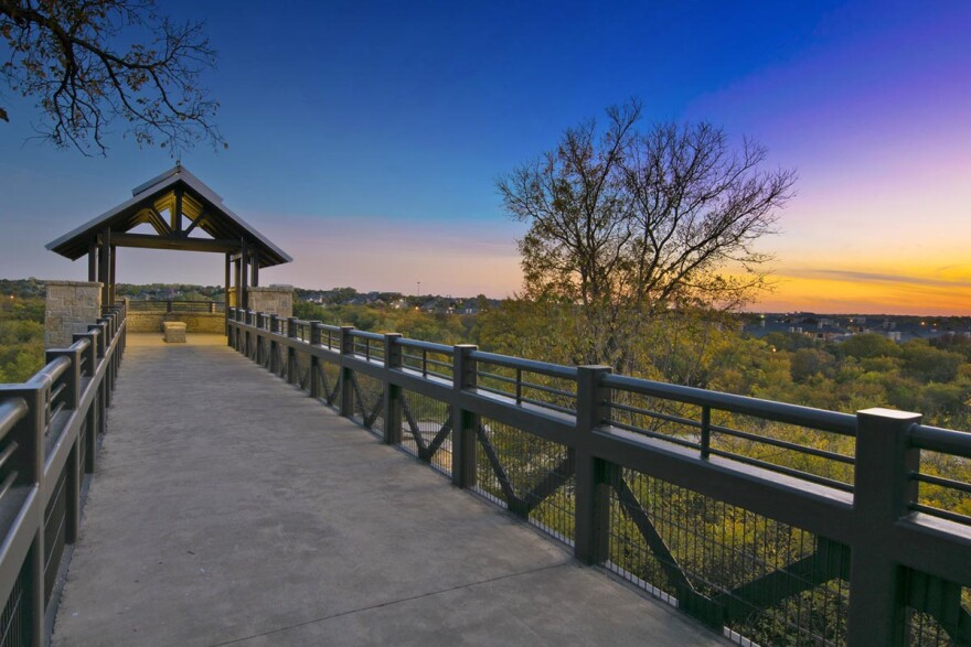 Arbor Hills Nature Preserve in Plano, Texas. One reason Plano's ParkScore is so high is because it invests in its park system, spending about $210 per resident.