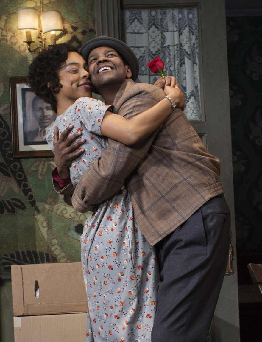 Denzel Washington plays Walter Lee, the role played by Sidney Poitier in the 1959 Broadway production of<em> A Raisin in the Sun</em>. Sophie Okonedo, known for her Academy Award nomination for <em>Hotel Rwanda,</em> plays Ruth Younger in her New York stage debut.