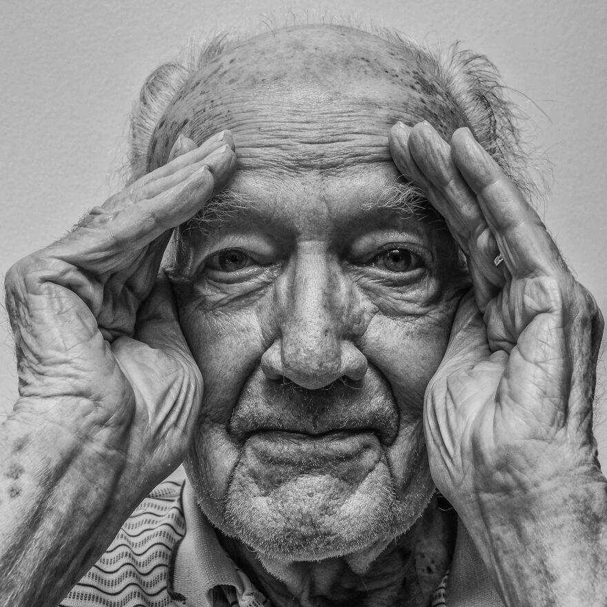 Vera Martin's photograph of her great grandfather Wally Willaman.