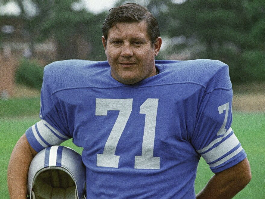 Alex Karras of the Detroit Lions in 1971.