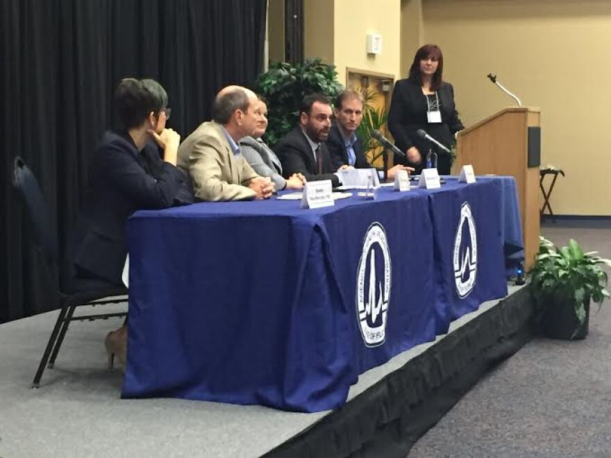 State health regulators, doctors and technology representatives converged on UNF's campus in Jacksonville to push health providers to buy into the Florida Health Information Exchange and digital record keeping.