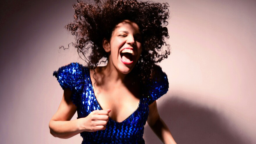 Xenia Rubinos' debut album is titled <em>Magic Trix</em>.