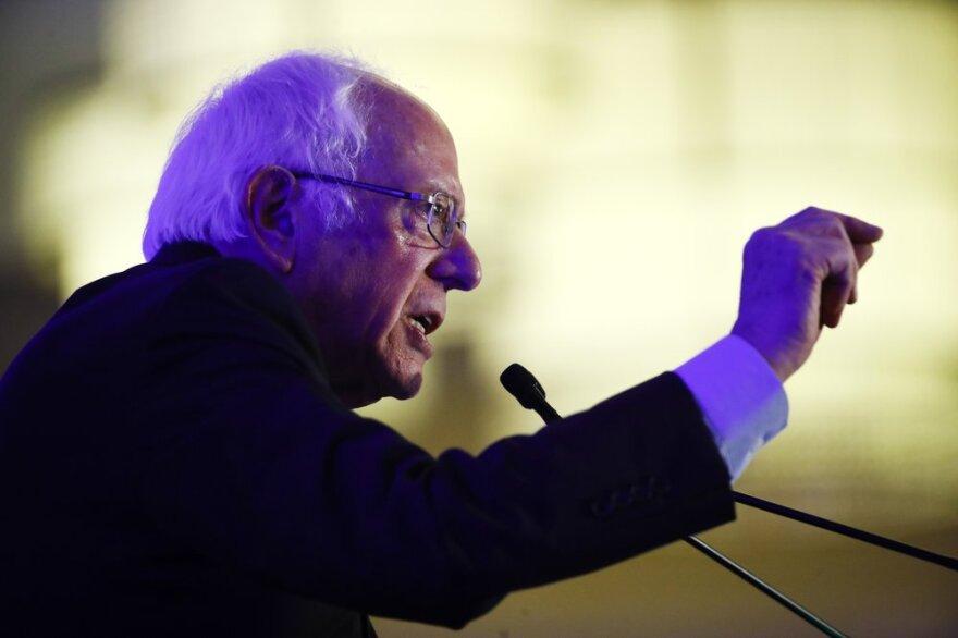 U.S. Sen. Bernie Sanders of Vermont campaigning in South Carolina this week.