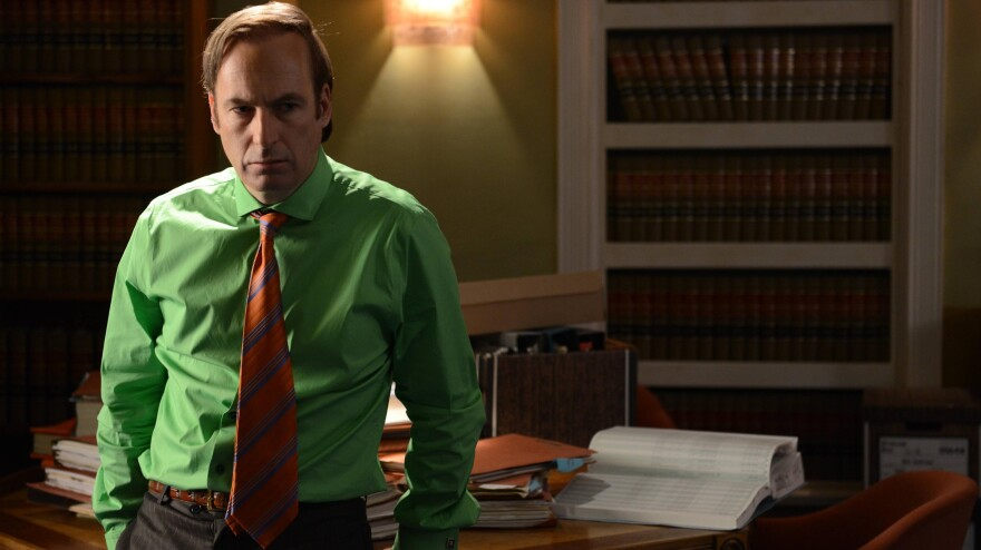 Bob Odenkirk plays sleazeball lawyer Saul Goodman on AMC's <em>Breaking Bad</em>. The show is in its final season, but creator Vince Gilligan has talked about doing a spinoff series for Saul that would star Odenkirk.