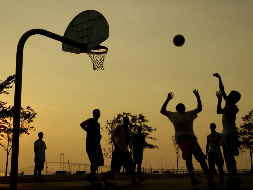 Pickup basketball may be losing out to computer games.