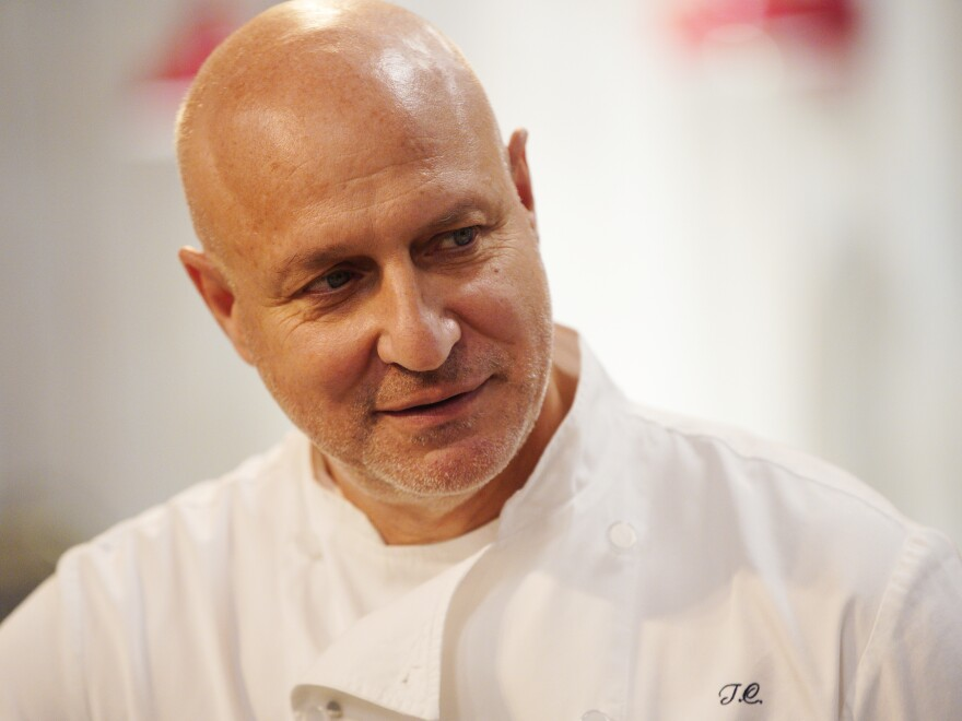 "Tom Colicchio is a James Beard Award-winning chef and the lead judge on Bravo's <em>Top Chef</em>. Restaurants are ""cultural centers"" that provide a semblance of normalcy and connection in trying times, he says."