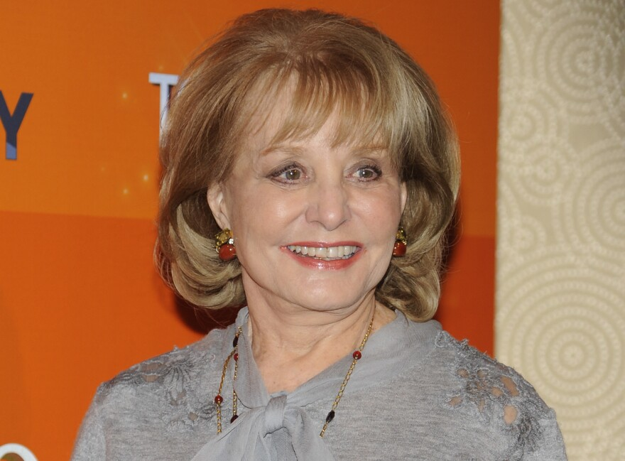 "Barbara Walters attends the ""Today"" show 60th anniversary celebration at the Edison Ballroom in New York in January."