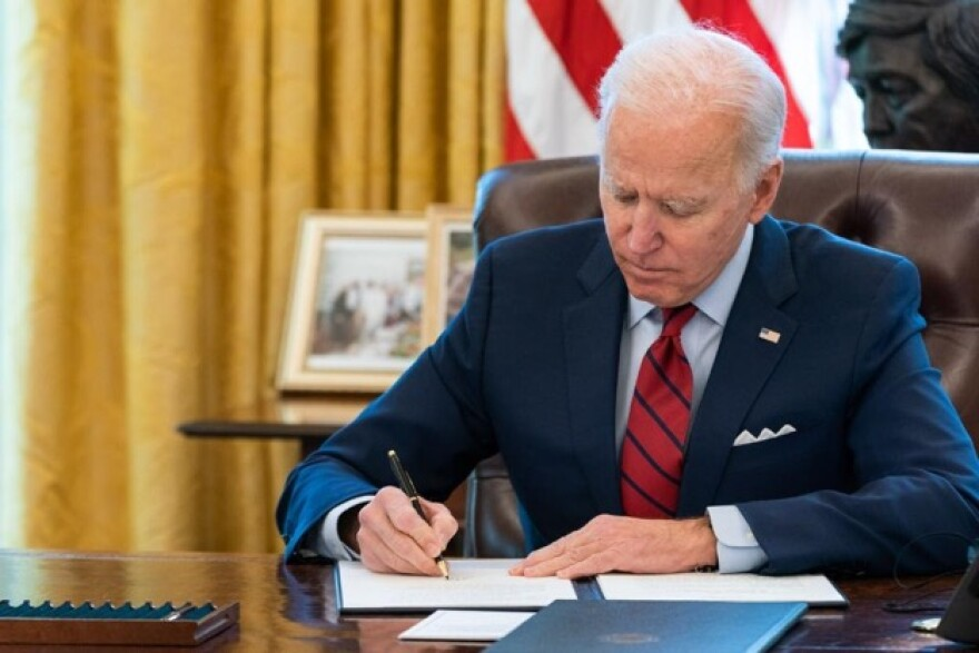President Joe Biden signed an executive order on Jan. 28 that, among other things, established a special health insurance enrollment period under the Affordable Care Act.