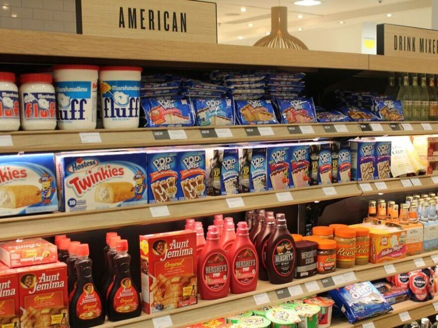 Plenty of food shops in London have sections catering to American immigrants. The busiest times converge around three American holidays: Independence Day, Thanksgiving and Christmas.