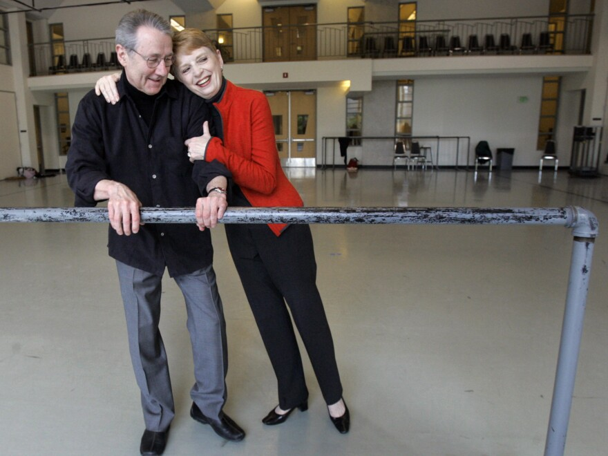Francia Russell and her husband, Kent Stowell, stepped down as co-artistic directors of Pacific Northwest Ballet in 2005.