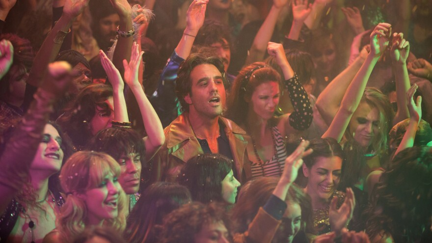 Bobby Cannavale stars as record executive Richie Finestra in the new series <em>Vinyl.</em>
