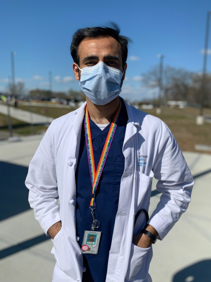 Dr. Murad Khan is a first-year psychiatry resident at Yale New Haven Hospital.