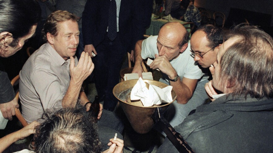 As a dissident playwright, Vaclav Havel led the Velvet Revolution to bring down Czechoslovakia's communist regime in 1989.