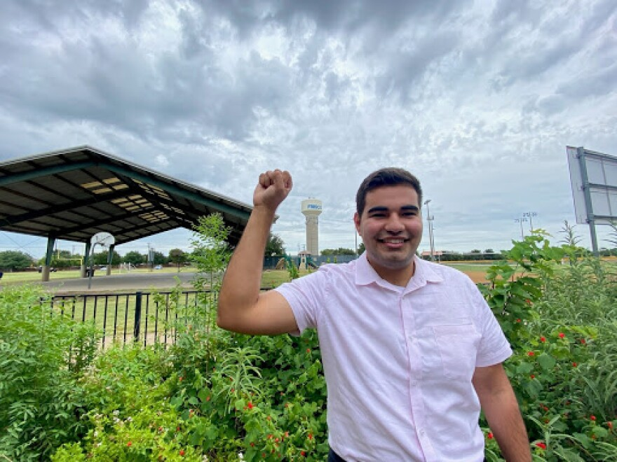 Chris Vasquez is an activist in Collin County. He was born in Plano. He attended schools in Frisco, and completed community college at Collin College in McKinney.