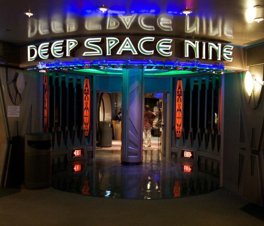 """Star Trek: Deep Space Nine"" is one of the series discussed in Weitekamp's presentation at the St. Louis Science Center Friday evening."