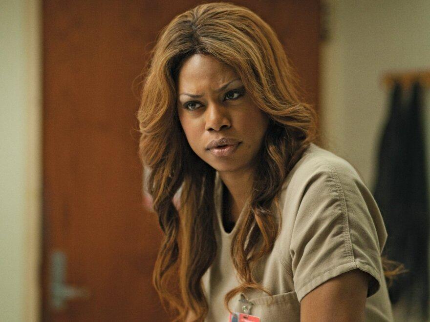 Laverne Cox plays Sophia in the new Netflix original series <em>Orange Is the New Black. </em>