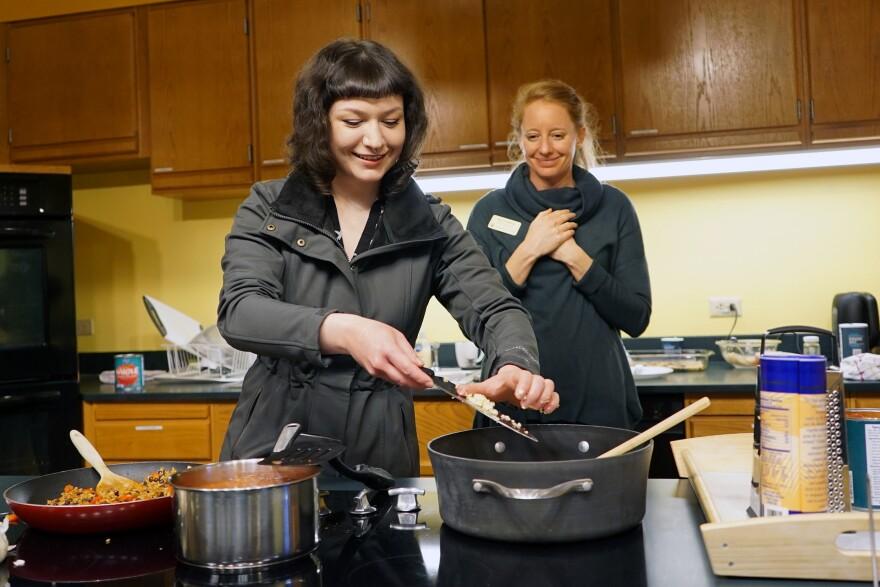 Henke cooking class