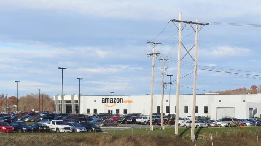 photo of Amazon data center