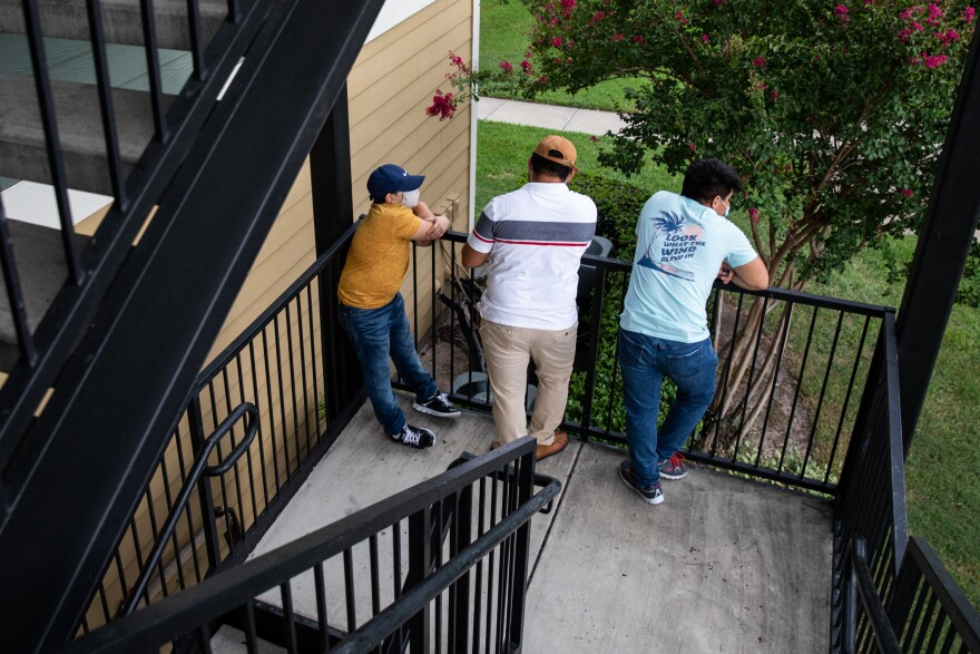 The two teenage boys are now in the custody of Ricardo's father, who asked that we not use their last names because they are still in immigration proceedings. They fled Honduras together after gang members threatened their family there.