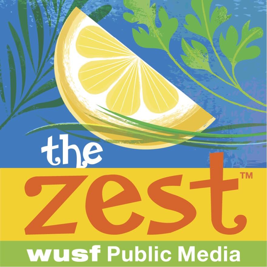 The Zest Podcast logo