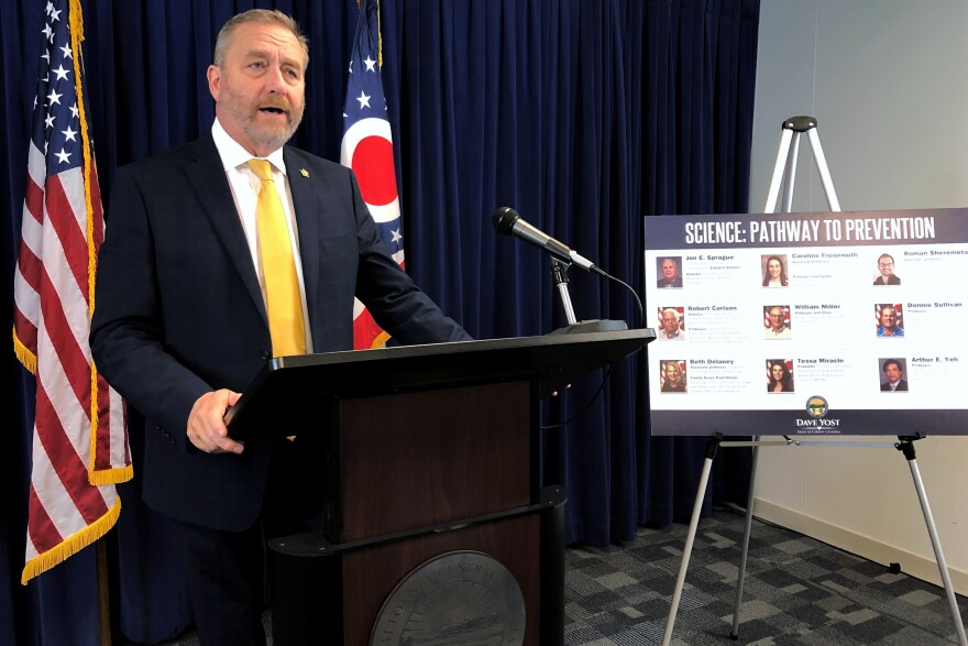 Ohio Attorney General Dave Yost (R-Ohio)