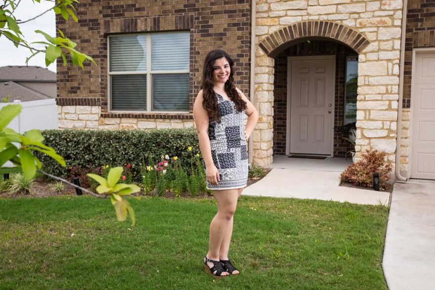 Frances Parra is graduating from the Ann Richards School for Young Women Leaders.