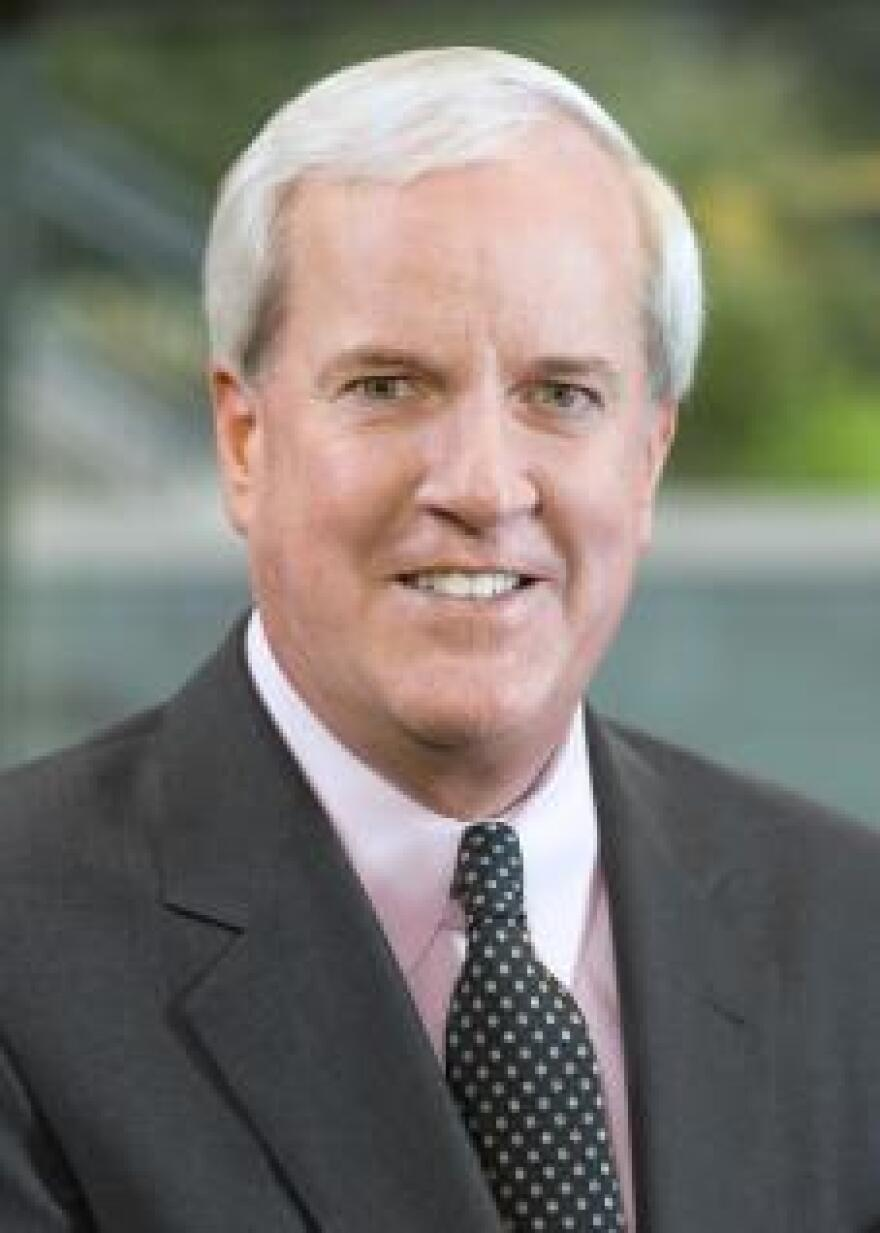 Patrick Sly is head of the Emerson Charitable Trust. He plans to retire from that position at the end of 2016. The executive vice president has been with the company since 1980.