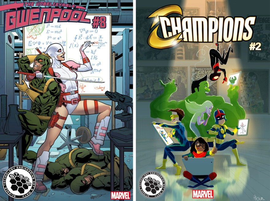 Gwenpool and Champions