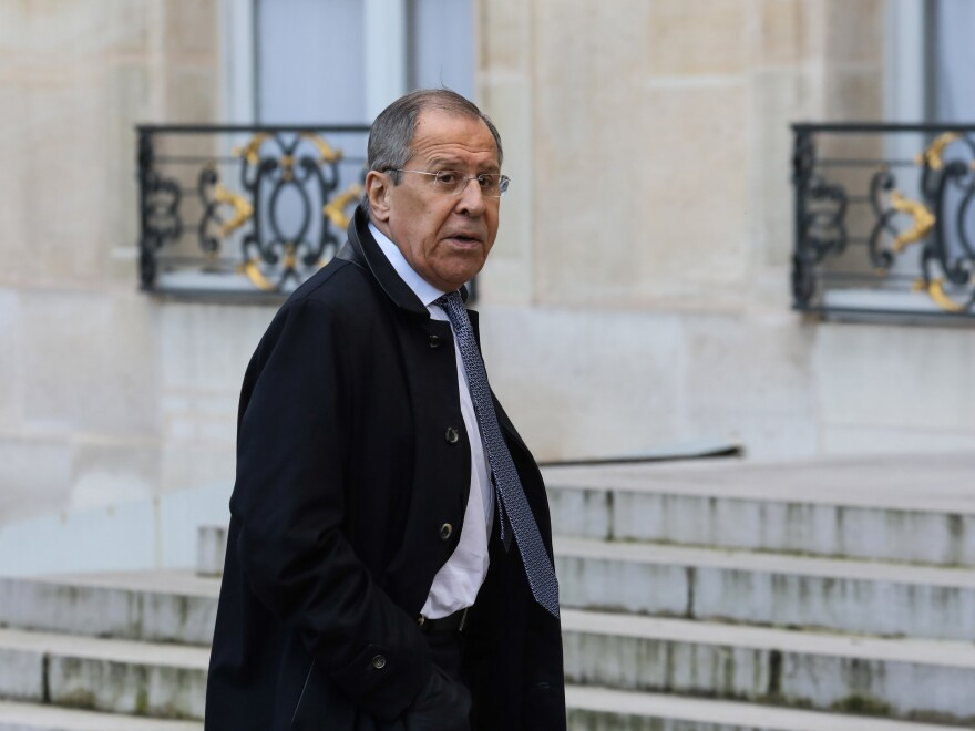 Russian Foreign Minister Sergei Lavrov will meet with President Trump at the White House on Tuesday.