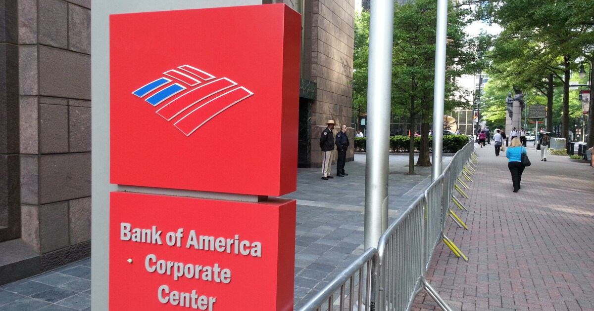 Bank Of America Profit Doubles In 1st Quarter To $8.1 Billion